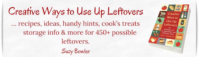 cookbook of creative recips and ideas for leftovers