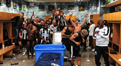 Newcastle back in English Premier League