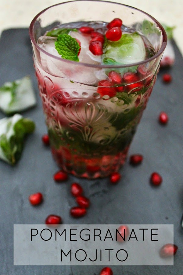 to die for pomegranate mojito!!