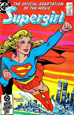 Resultado de imagem para supergirl movie 1984 comic adaptation