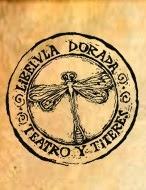 logo del teatro Libelula Dorada