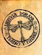 LOGO deTEATRO LIBELULA DORADA
