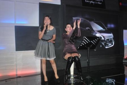 Angela Tee Eks 7 Icon Senang Tampil di Palembang