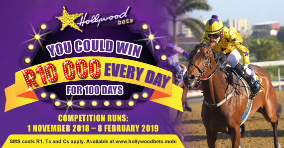 You Could Win R10 000 for the next 100 days