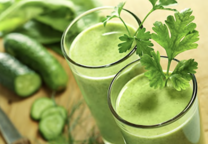 bottle Gourd-Cucumber Juice