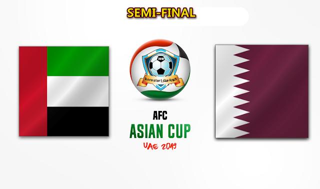 مشاهدة مباراة الامارات وقطر بث مباشر اليوم 29-01-2019 كاس اسيا