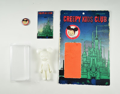Mickey Mouse Club inspired Creepy Kids Club Do It Yourself Resin Mini Figure by Super Secret Fun Club