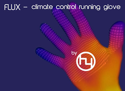 Smart Gloves for You - Flux - Climate Control Running Gloves