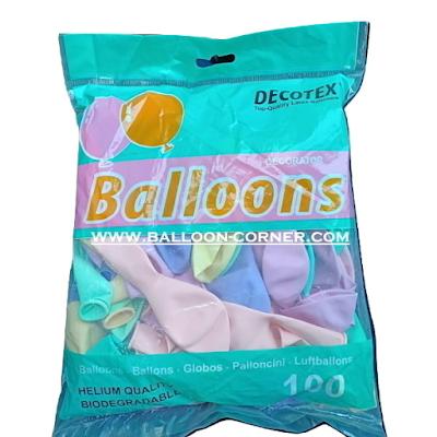 Balon Latex Macaron 10 Inch