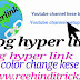 Blog hyper link color change kese kare