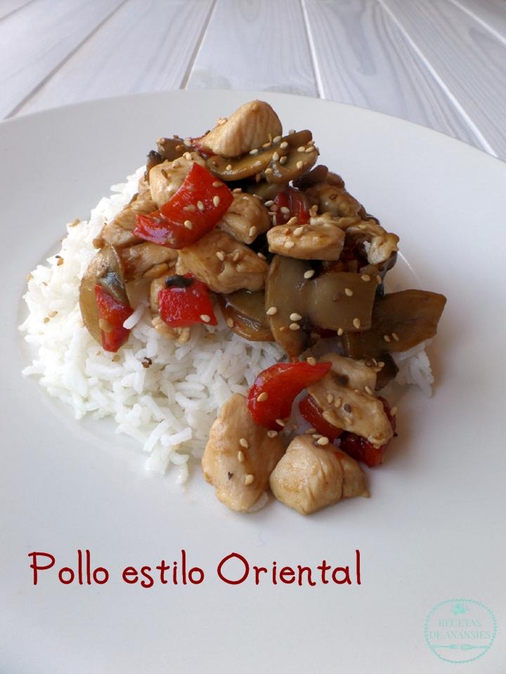 Kikkoman, Maille y Tabasco: Pollo estilo oriental.