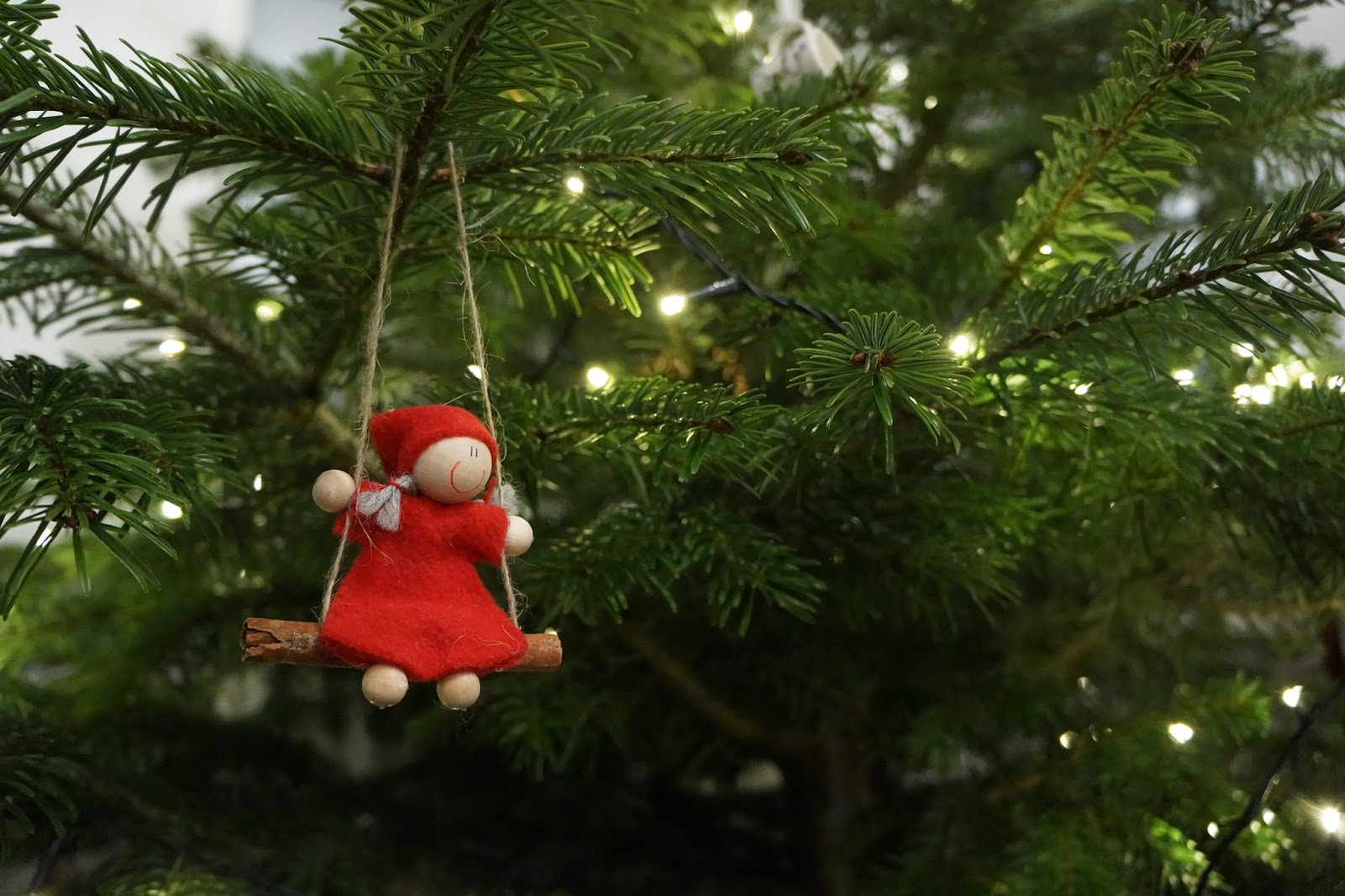 scandinavian finnish christmas tree elf decoration