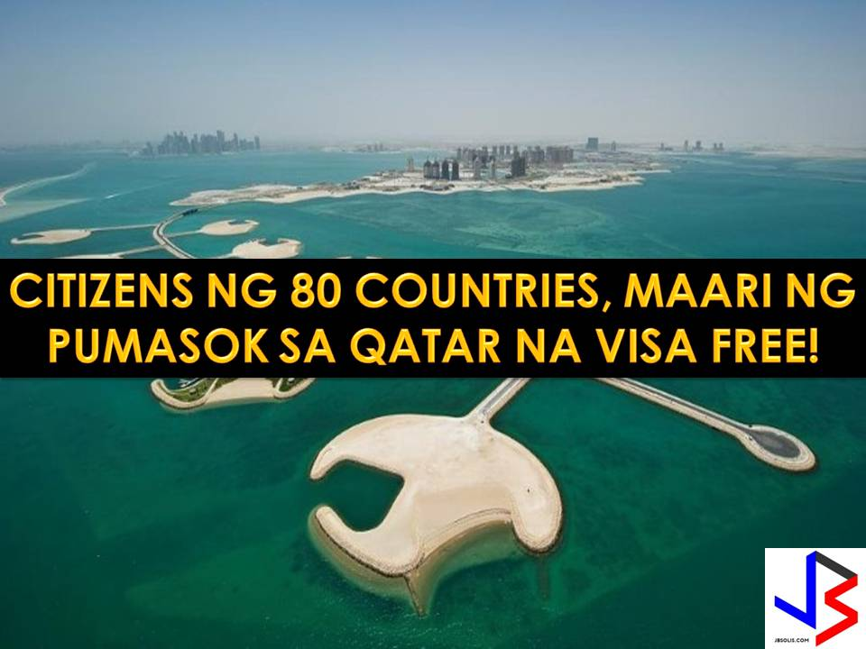 Citizens of 80 countries worldwide can no enter Qatar visa free. This is after Qatar announced a program to allow visa-free entry to boost air transport and tourism.  The program is implemented despite the two-month boycott imposed on the tiny gulf state by its neighbor, spearheaded by Saudi Arabia.  Nationals from a different part of the world, including from India, Lebanon, New Zealand, South Africa and the United States only need to present a valid passport to enter the country.