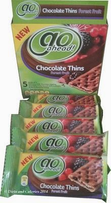 Go Ahead Chocolate Thins Forest Fruit