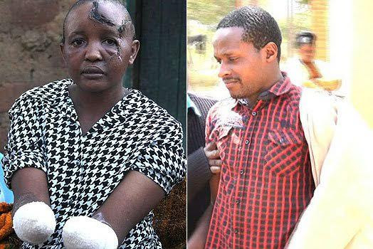 Photos/Video: Man chops off wife's hands for not conceiving after seven years of marriage