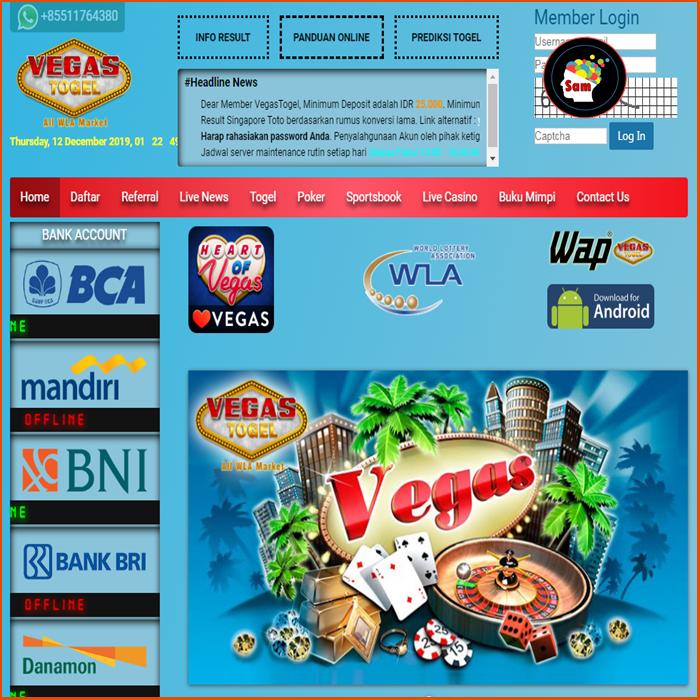 Bandar Togel Online VEGASTOGEL