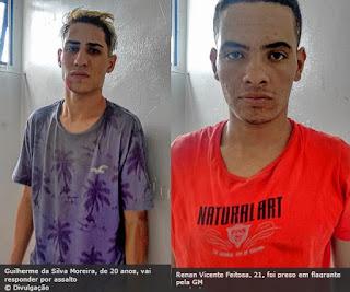 Guarda Municipal de Várzea Paulista flagra roubo e detém quatro após perseguição