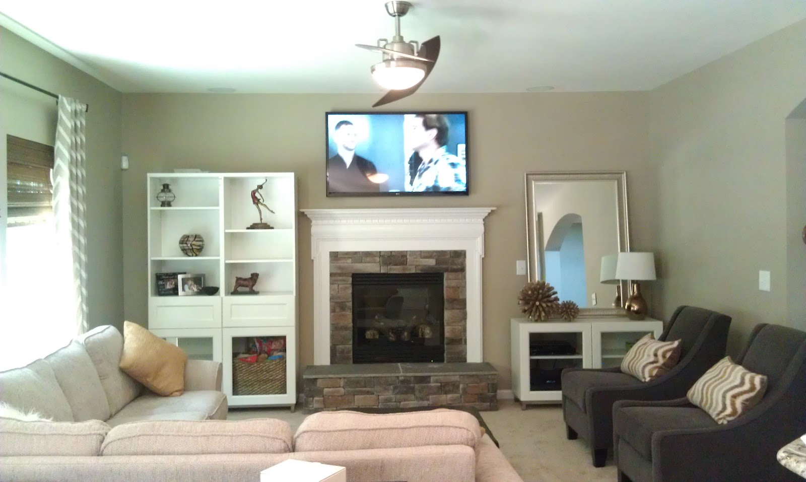 Building Our James Joyce With Ryan Homes Family Room