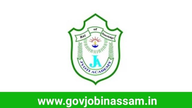 Jyoti Academy, Golaghat Recruitment 2018