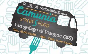 Camunia Street Food  2-3-4 settembre Lungolago di Pisogne (BS)