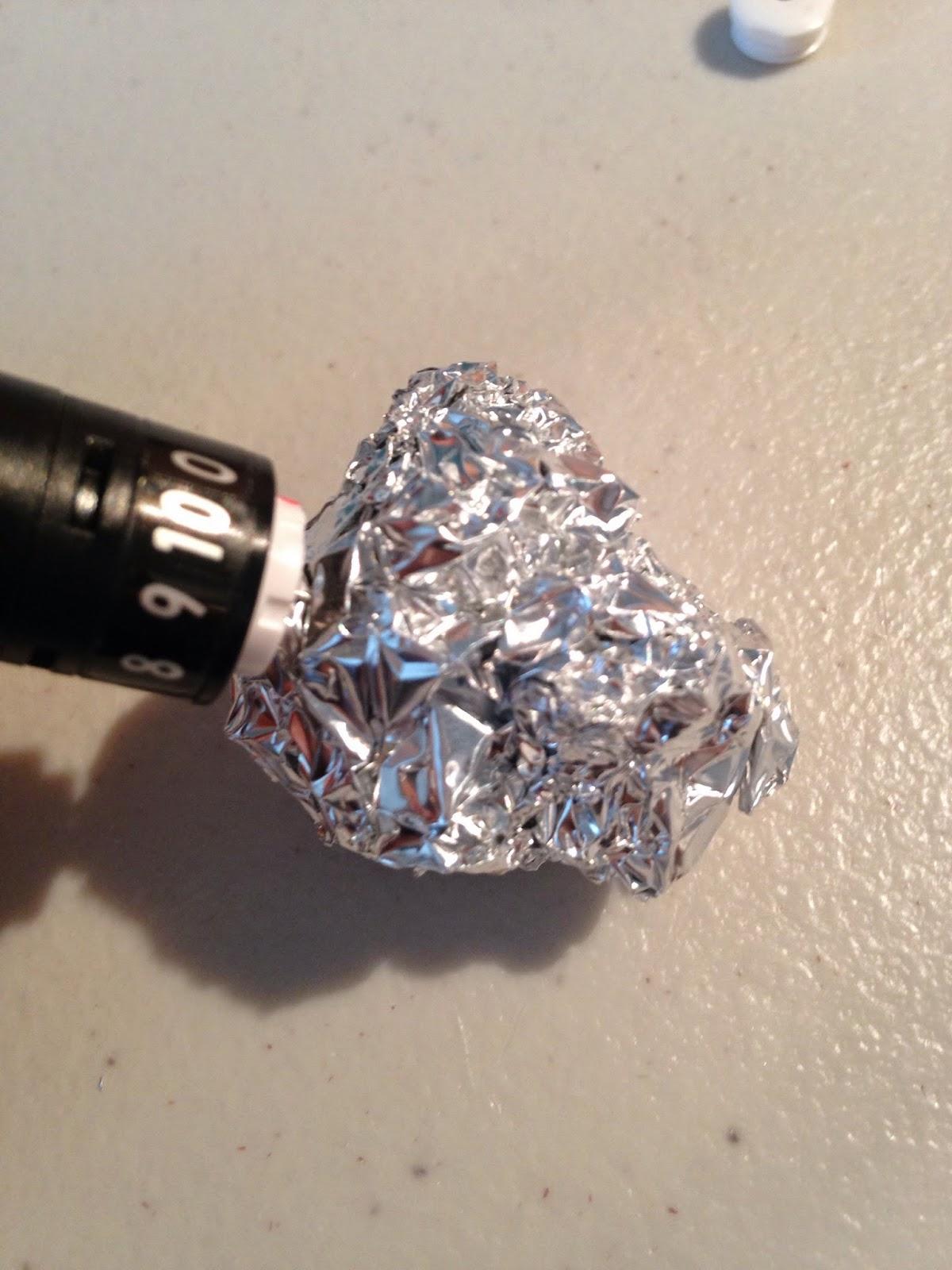 Silhouette blade, sharpening, tin foil, test