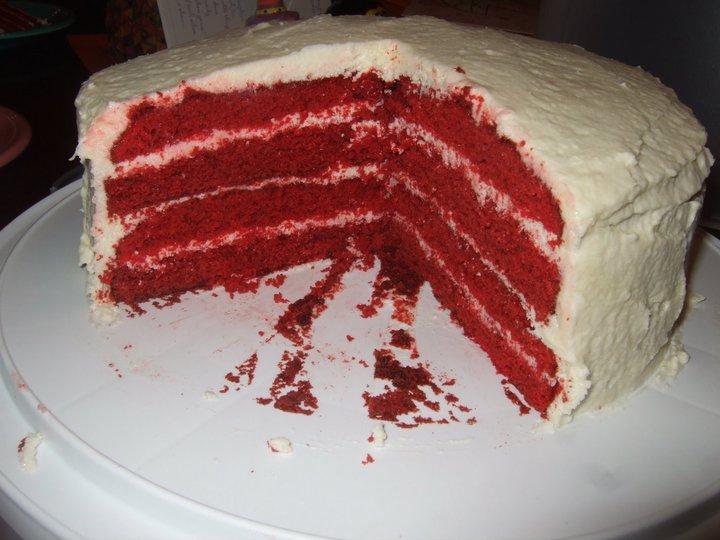 Red Velvet Cake Icing Recipes: Through Fuchsia-Colored Glasses: Recipe: Red Velvet Cake