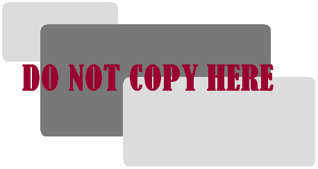 do not copy my blog