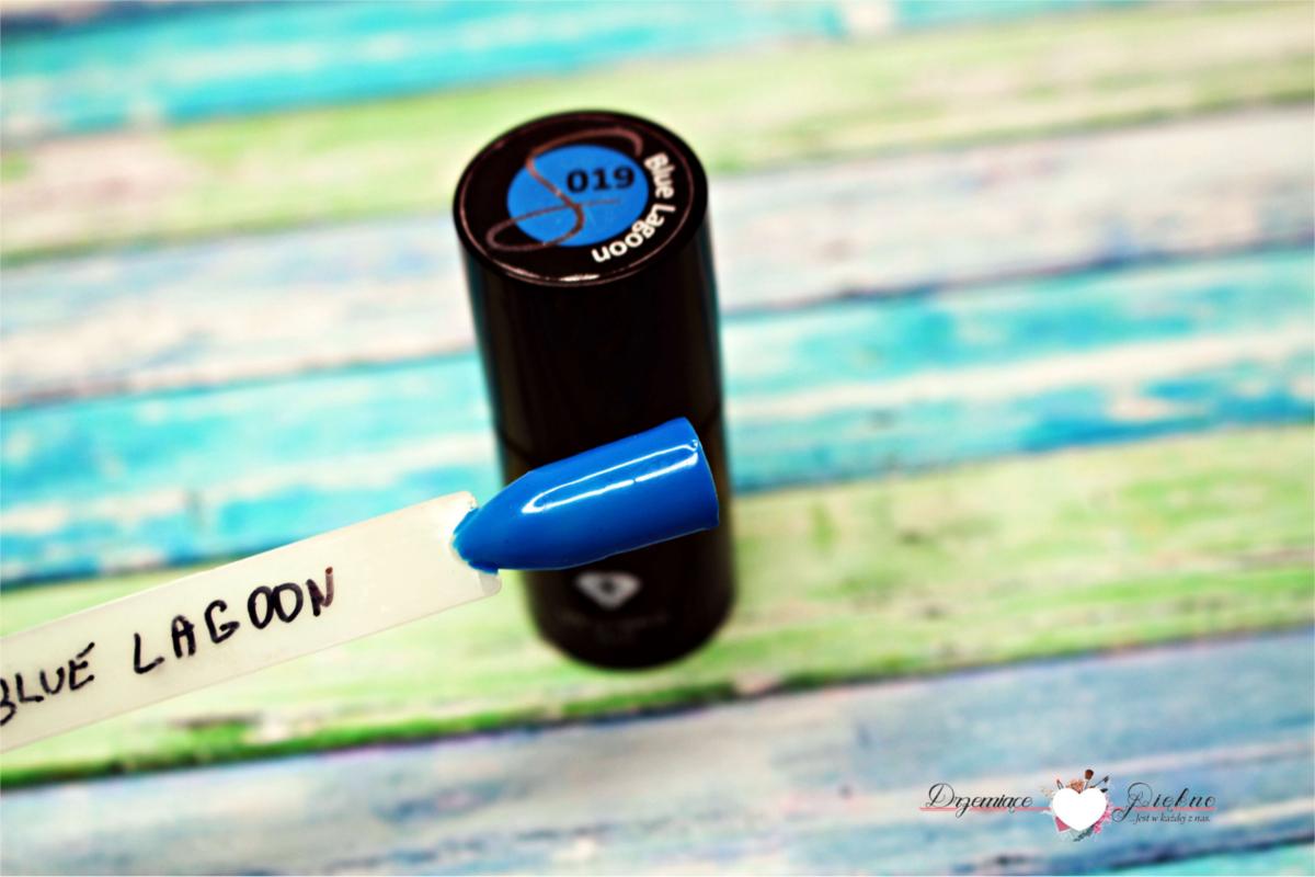 Lakier hybrydowy UV Hybrid Semilac Blue Lagoon nr. 019