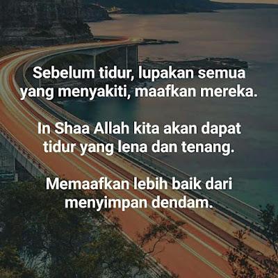 salam jumaat, maafkan mereka yang menyakiti, islamic quote, madah islam