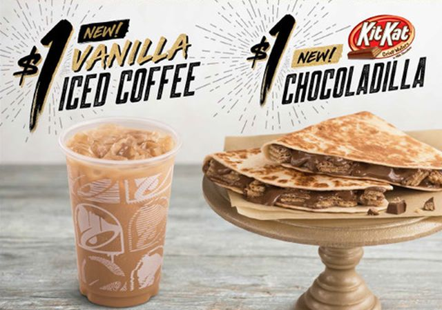Taco Bell Introduces Yet Another Experiment: The Kit Kat Chocodilla
