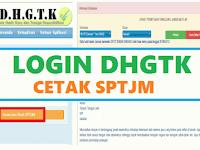 Mencetak SPTJM Absen Online DHGTK Untuk Tunjangan Sertifikasi