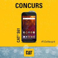 Castiga un Telefon Mobil CAT S61 - castiga.net