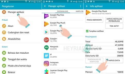 Musik Tidak Muncul di BBM Android