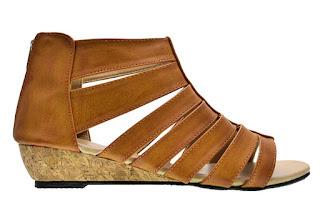 sandal flip flops cerelia sellina coklat sandal wanita