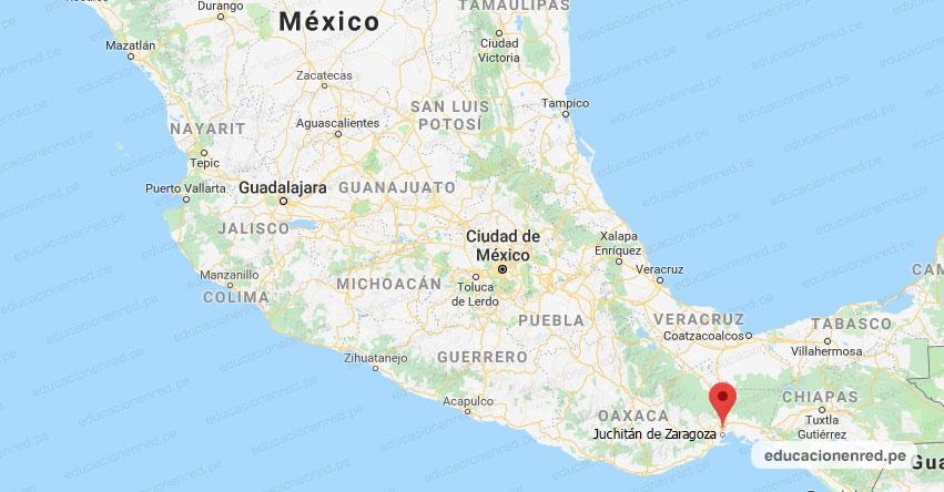 Temblor en México de Magnitud 4.0 (Hoy Domingo 15 Marzo 2020) Sismo - Epicentro - Juchitán de Zaragoza - Oaxaca - OAX. - SSN - www.ssn.unam.mx
