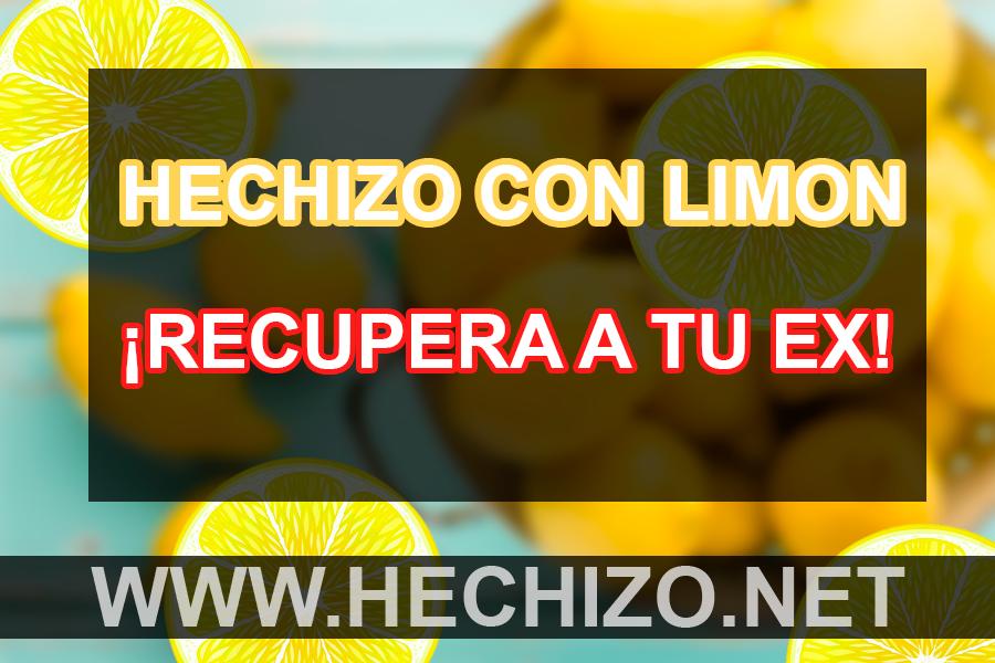 hechizo para el amor con limon