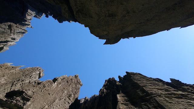 tsingy bemaraha grande sky view