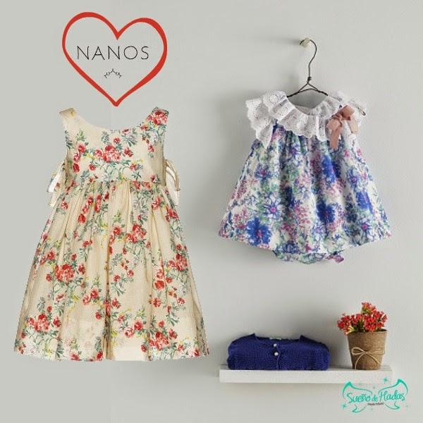 Vestidos estampado floral - Nanos