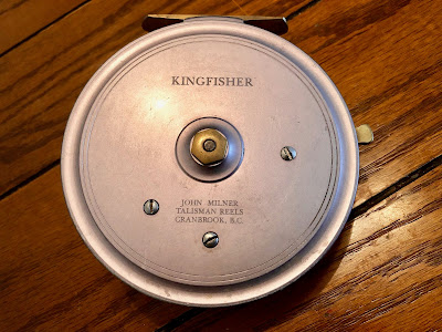 John Milner Kingfisher bushing reel