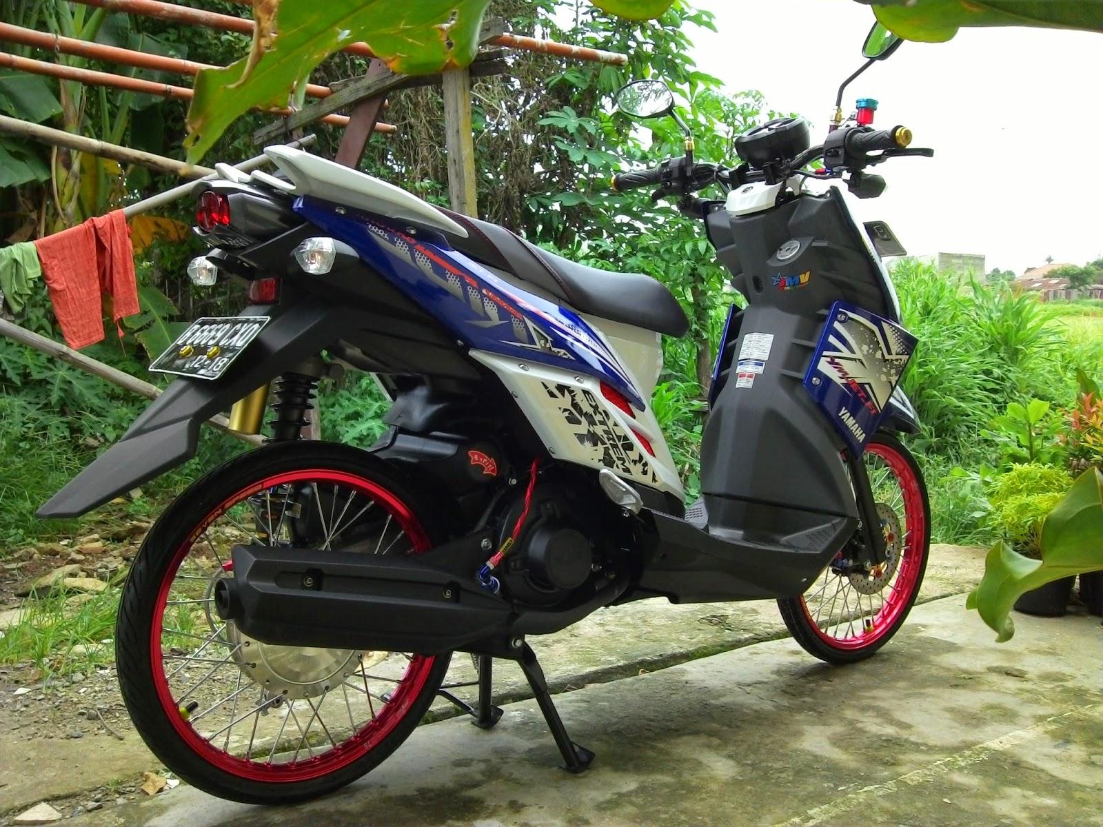 Modifikasi X Ride Jadi Supermoto Motor Yamaha Terbaru Galeri Gambar