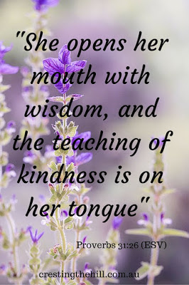 The Wise Woman - Proverbs 31:26