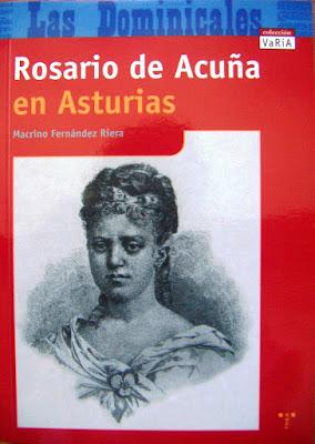 Portada del libro Rosario de Acuña en Asturias