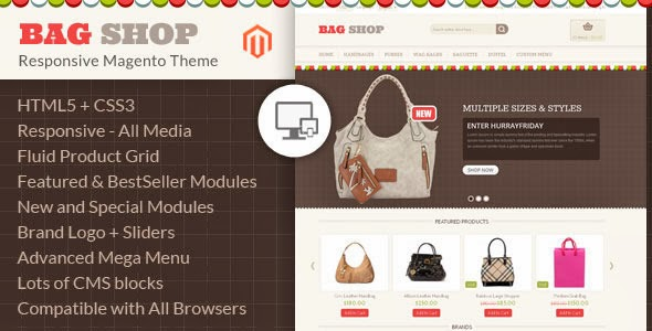 Magento Responsive Template 2014