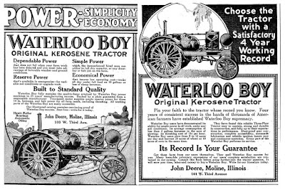 John Deere Waterloo Boy Tractor