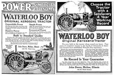 John Deere Waterloo Boy Tractor