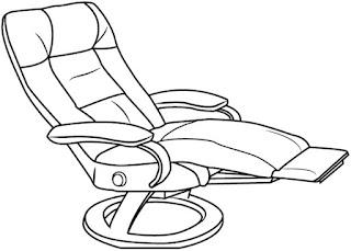 Gambar Recliner (Sofa)