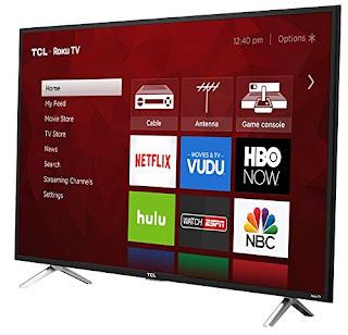 TCL 49-Inch 4K Ultra HD Roku Smart LED TV