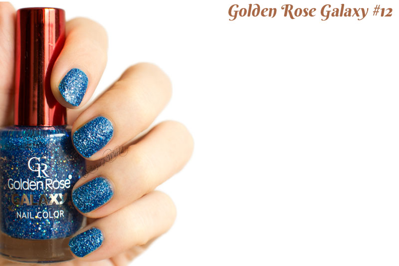Golden Rose Galaxy 12 swatch