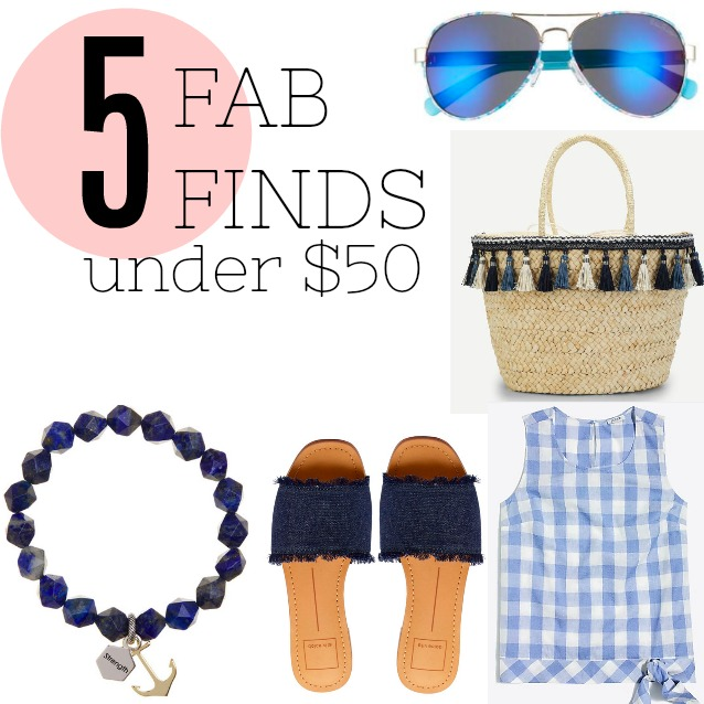 50 Fab Summer Finds Under 50: Pieces Of A Mom