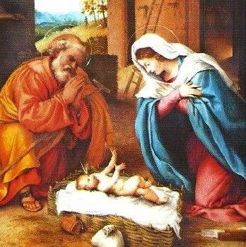 Imagen del Nacimiento de Jesús a colores